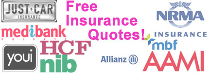 Insurance Quotes, Free, Online Insurance, Sydney, Melbourne, Adelaide, Brisbane, Darwin, Perth